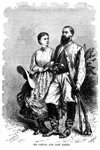 Samuel White Baker (1821-189), English Explorer and Anti-Slavery Campaigner, 1874 Giclee Print