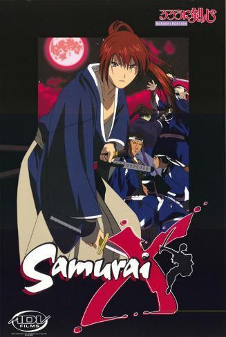 Samurai X Impressão original