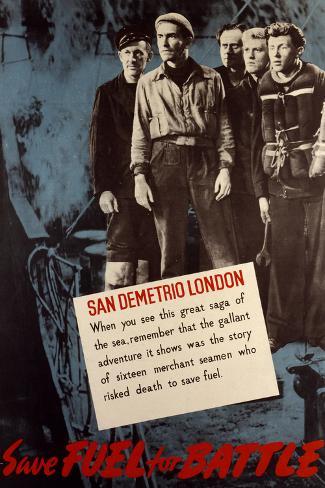 San Demetrio, London Art Print