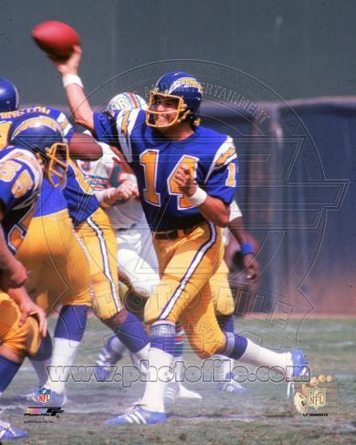 San Diego Chargers Dan Fouts Photo Photo At Allposters Com