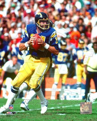 San Diego Chargers Dan Fouts Photo Photo At Allposters