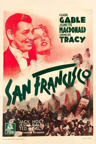 San Francisco, 1936 Gicléetryck