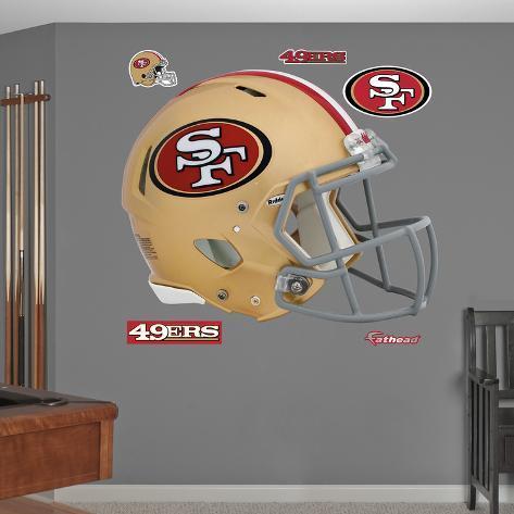 San Francisco 49ers Revolution Helmet Wall Decal