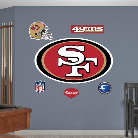 San Francisco 49ers Wall Decal