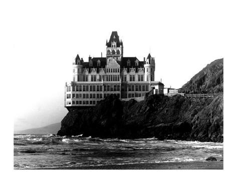 San Francisco, Cliff House Hotel Giclee Print