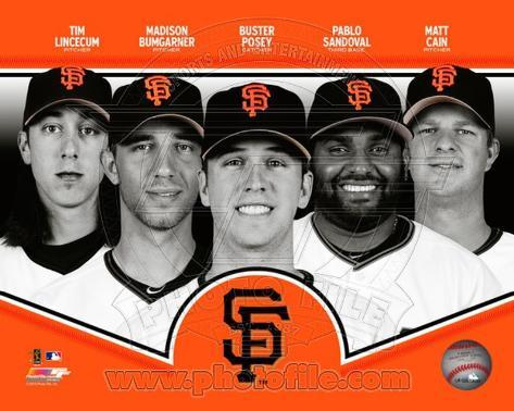 San Francisco Giants 2013 Team Composite Photo