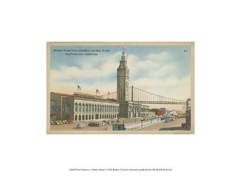 San Francisco- Market Street Art Print