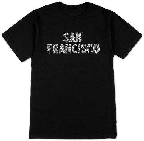San francisco neighborhoods shirts for Bespoke shirts san francisco