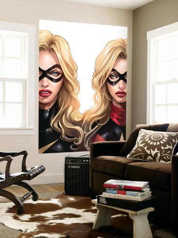 Ms. Marvel No.46 Cover: Ms. Marvel Wall Mural
