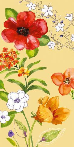 Fusion Flowers I Art Print