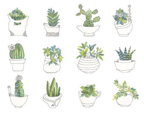 My Indoor Garden Giclee Print