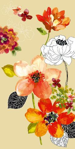 Paint Line I Art Print