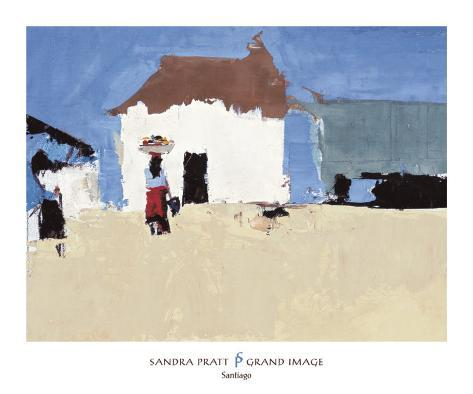 Santiago Art Print