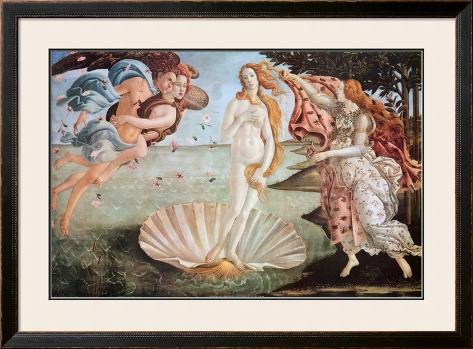 Birth of Venus Framed Poster