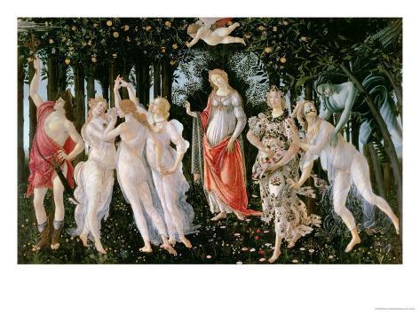 Primavera, circa 1478 Giclee Print