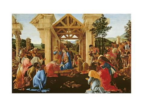 The Adoration of the Magi, 1481-82 Giclee Print