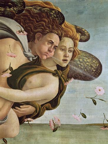 The Birth of Venus, c.1485 (detail) Giclee Print