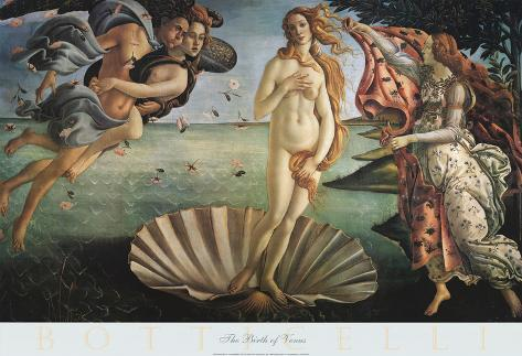 an analysis of the artwork the birth of venus by sandro botticello