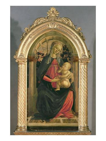 The Madonna of the Roses, c.1470 Giclee Print