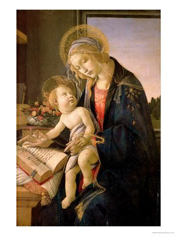 The Virgin Teaching the Infant Jesus to Read Giclee Print
