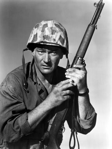 Sands Of Iwo Jima, John Wayne, 1949 Photo