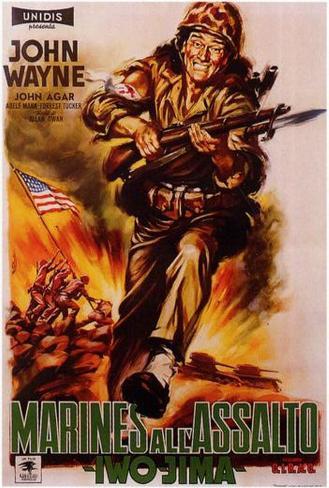Sands of Iwo Jima Poster