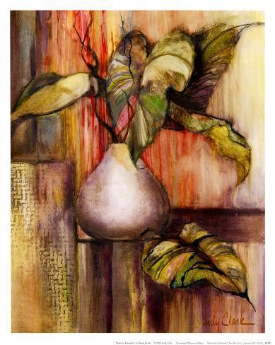Tropical Elements I Art Print
