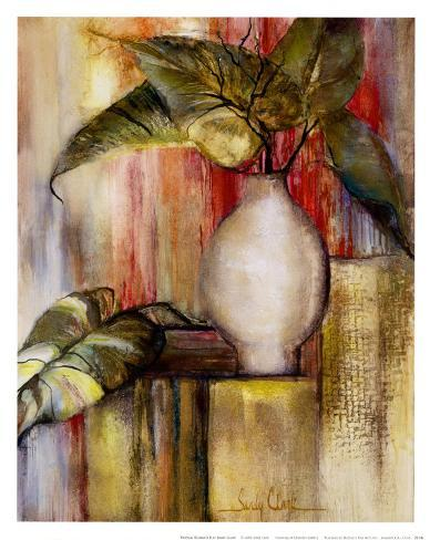Tropical Elements II Art Print