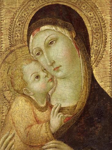 Madonna and Child Giclee Print