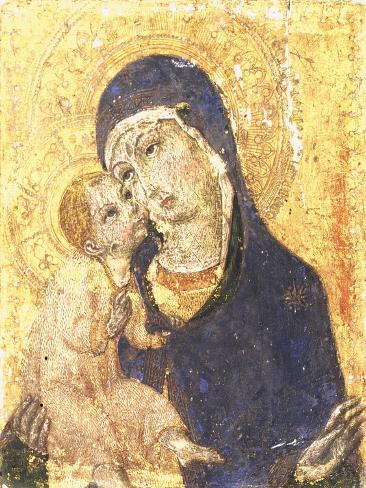 Madonna with Child Lámina giclée