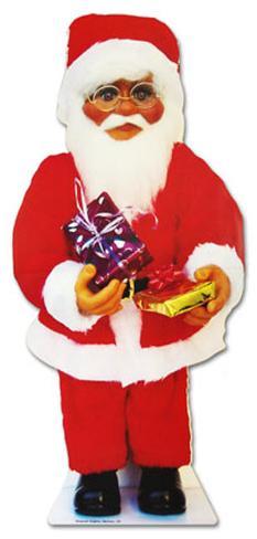 Santa Claus with Presents Lifesize Standup Cardboard Cutouts