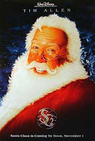 Santa Clause 2 Double-sided poster