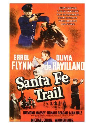 Santa Fe Trail, 1940 Art Print