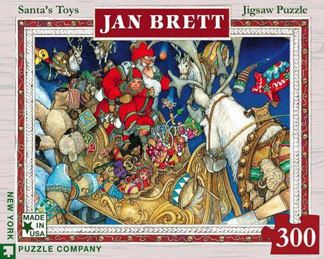 Santa's Toys 300 piece Puzzle Jigsaw Puzzle