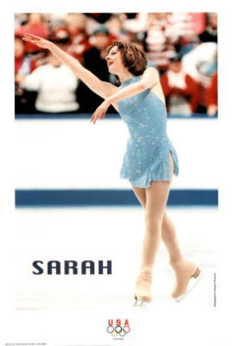 on Ice Olympics Poster