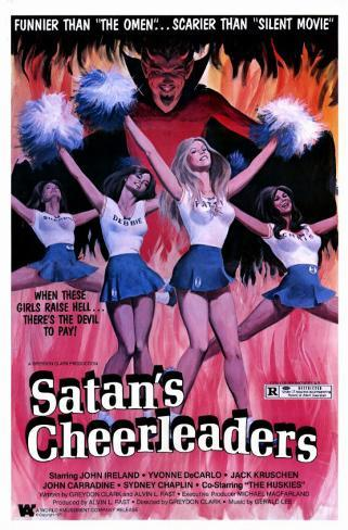 Satan's Cheerleaders Masterprint