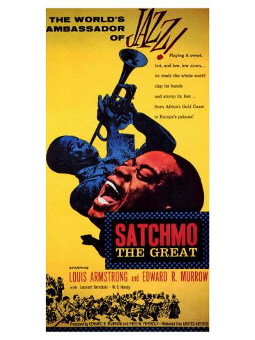 Satchmo the Great, 1957 Art Print