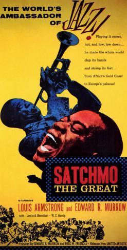 Satchmo the Great Masterprint