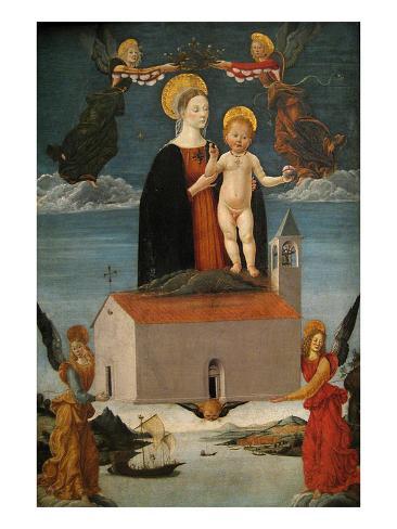 The Translation of the Holy House of Loreto, Ca. 1511 Lámina