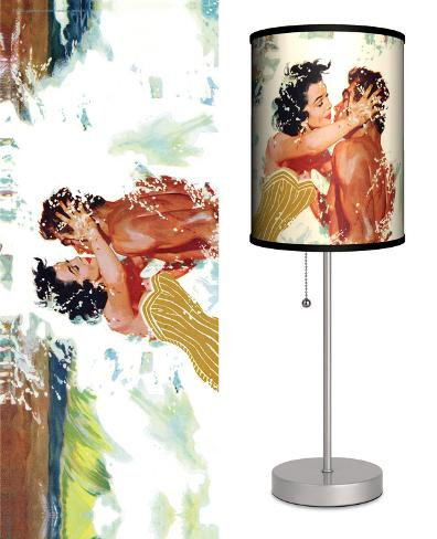 Saturday Evening Post: The Girl Next Door - Table Lamp Table Lamp