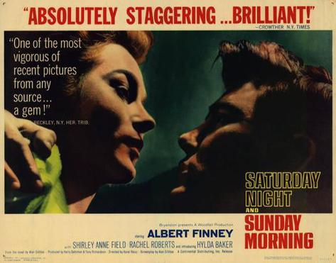 Saturday Night and Sunday Morning -  Style Poster