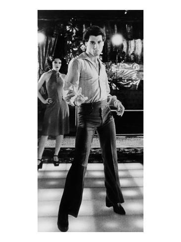 Saturday Night Fever, Fran Drescher, John Travolta, 1977 Photo
