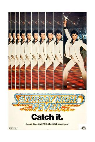 Saturday Night Fever, John Travolta, 1977 Giclee Print