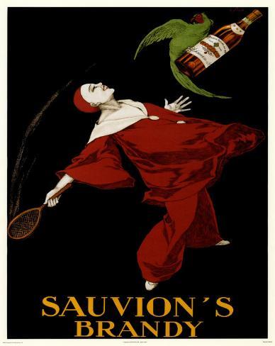 Sauvion's Brandy Mini Poster