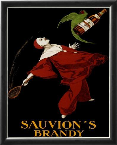 Sauvion's Brandy Framed Art Print