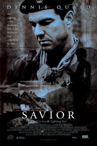 Savior Original Poster