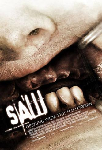 Saw III Double-sided poster