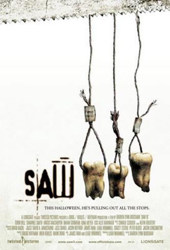 Saw III Dubbelsidig poster
