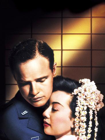 Sayonara, Marlon Brando, Miiko Taka, 1957 Photo