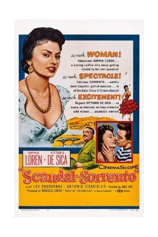 Scandal in Sorrento Giclee Print